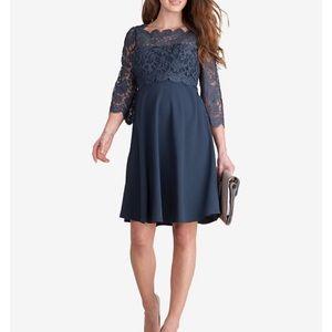 Seraphine Maternity Lace Babydoll Dress